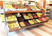 Scaffali Per Frutteria.Scaffalature Negozi Frutta Verdura Porta Cassette Arredi