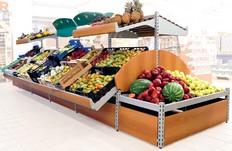 scaffalature negozi frutta verdura porta cassette arredi - Idee Arredamento Negozio Frutta E Verdura