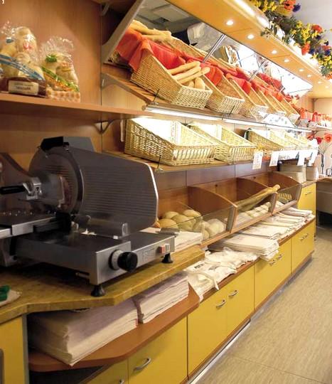 Scaffalature Per Negozi Alimentari.Scaffalatura Alimentare Arredo Salumeria Panetteria Verdura