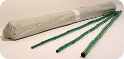 Mazzo canne bamboo colorate arredamento sostegno pomodori for Canne di bambu per arredamento
