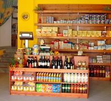 Arredi negozi frutta verdura in legno serie rustica for Idee per arredare un negozio di frutta e verdura