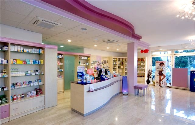 parafarmacia arredo negozi scaffalature celiachia farmacie