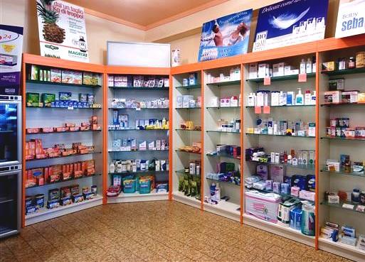 Parafarmacia arredo negozi scaffalature celiachia farmacie for Bottigelli arredi farmacia