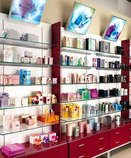 Parafarmacia arredo negozi scaffalature celiachia farmacie for Piani di costruzione del negozio con alloggi