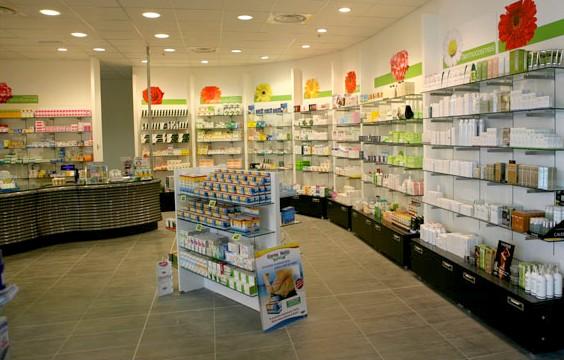 Parafarmacie arredamenti negozi canton ticino musicoterapia for Arredamenti per farmacie