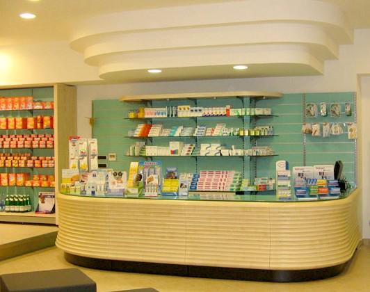 Parafarmacie arredamenti negozi canton ticino musicoterapia for Arredamento parafarmacia usato