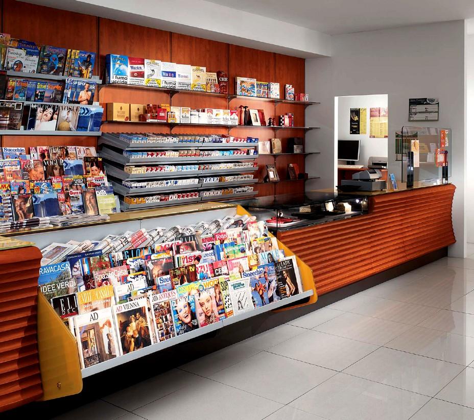 Arredamenti negozi tabaccherie sisal canton ticino svizzera for Arredamento bar tabacchi usato