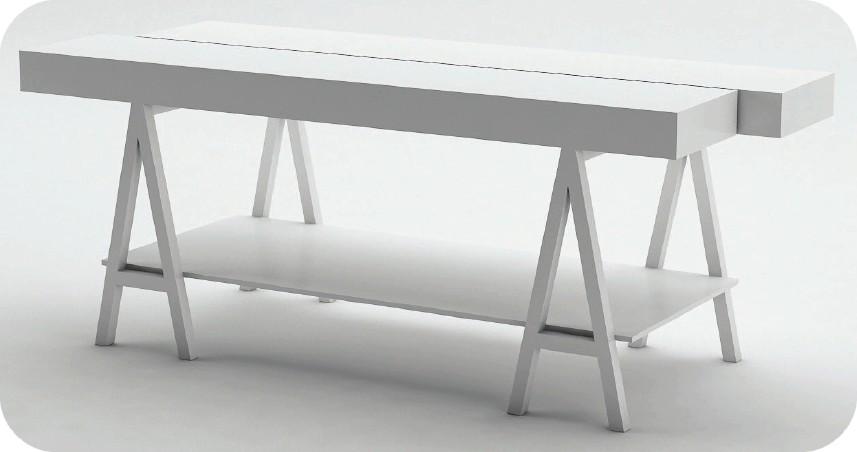 Cavalletti in ferro per tavoli disegni interni ed for Negozi tavoli milano
