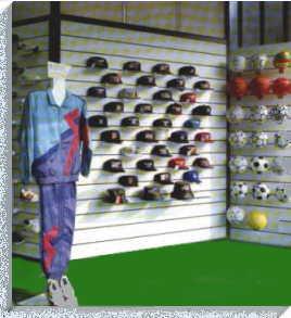 Arredamento negozio pannelli dogati doghe arredamenti negozi for Montaggio arredamenti negozi