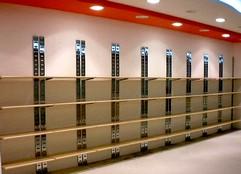 arredo negozi abbigliamento scaffalatura bottone strutture - Arredamento Negozio Abbigliamento Scaffalatura In Acciaio