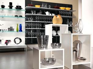 Arredamento profumeria calzature casalinghi regalo micro for Prisma arredo negozi