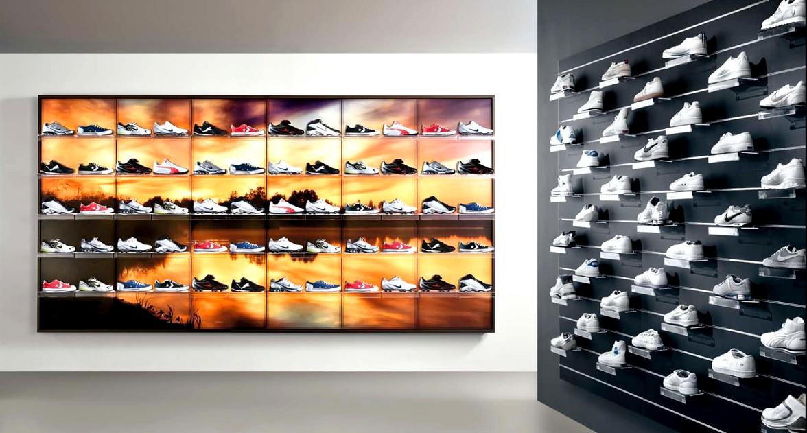 Arredamento profumeria calzature casalinghi regalo micro for Pannelli arredo negozi