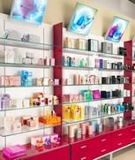 Arredi negozi profumerie vendita bellezza cosmetici locarno for Negozi arredamento lugano
