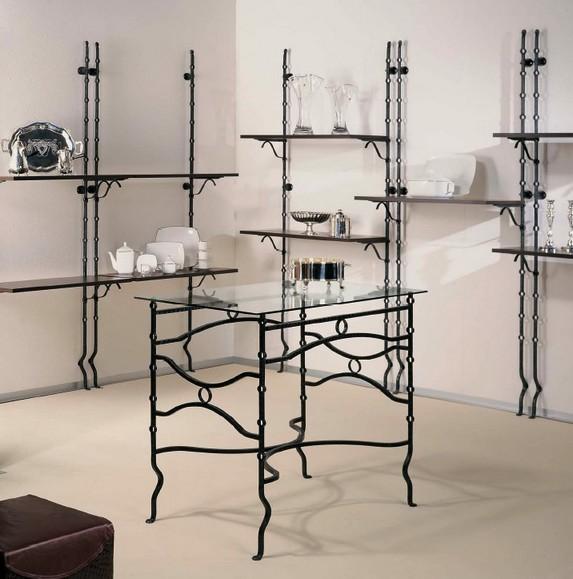 scaffalature componibili per negozi in ferro battuto al ticino pavia - Negozi Arredamento Ticino