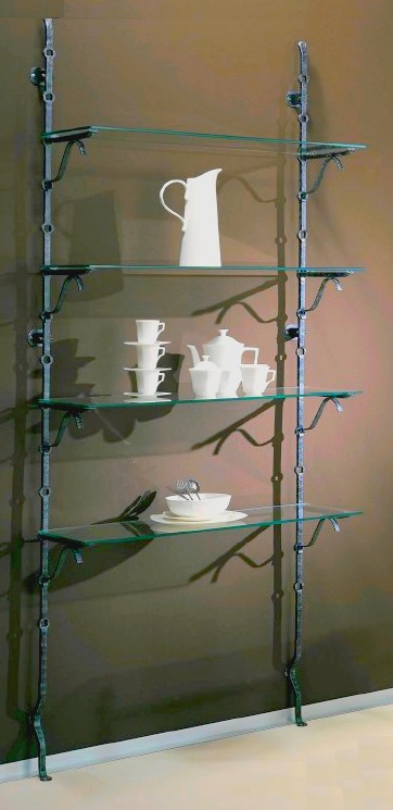 Beautiful componibili per negozi in ferro battuto al for Garage in metallo con planimetrie abitative