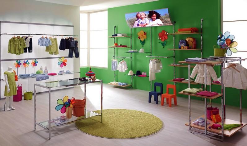 arredamento negozi abbigliamento appenderia cromato regina