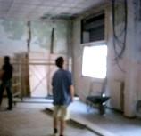 lavori edili in negozio da arredare