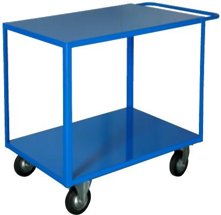 Carrelli porta tutto lamiera ruote gomma piena portata for Piani di officina e officina