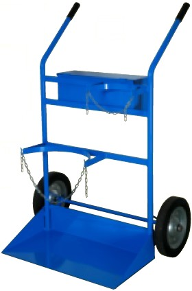 Carrelli porta bombole carrello litri biposto ruote gomma - Carrello porta bombola ossigeno portatile ...