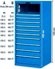 Cassettiere Metalliche Per Officina Prezzi.Cassettiere Portautensilerie Magazzini Officina Industria