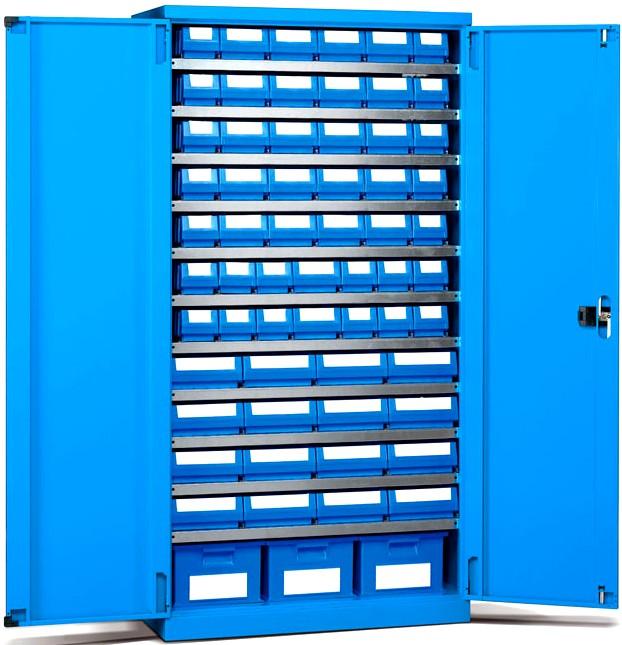 Armadi metallo officine magazzini contenitori plastica for Armadi di metallo per uffici
