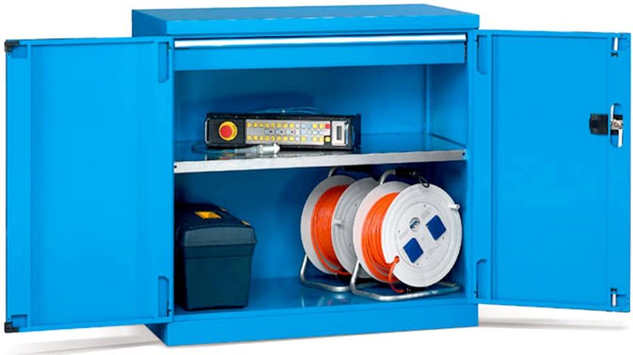 Armadietto basso metallo officine magazzini industria for Armadi di metallo per uffici