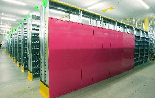 armadi magazzino ripiano porta ricambi divisorio zincato cm - Armadietti Zincati