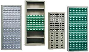Armadi porta minuteria utensili cassetti plastica lamiera for Minuteria per mobili