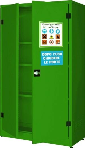 Armadi lamiera verde prodotti pesticidi fitosanitari for Piani di progettazione di armadi mudroom