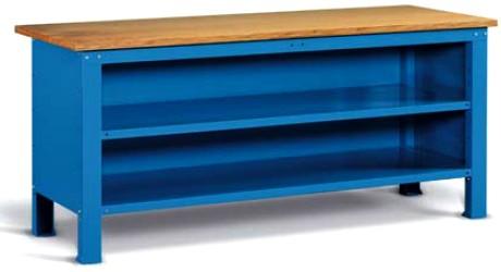 Banco Di Lavoro Con Cassetti : Banco lavoro chiuso piano legno mobiletto cassetti antina