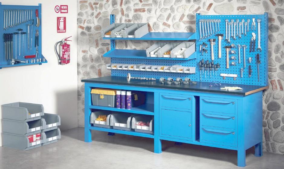 Banchi Da Lavoro Usati Per Officina : Banchi lavoro piano lamiera officina industria