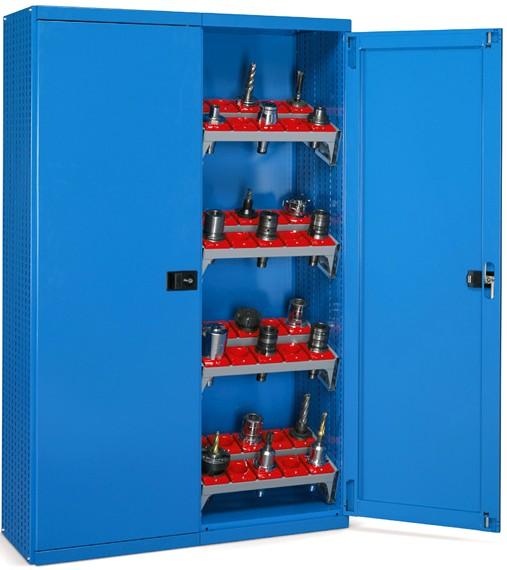 Armadi metallici portaboccole h 200 cassetti portautensili for Piani di officina e officina