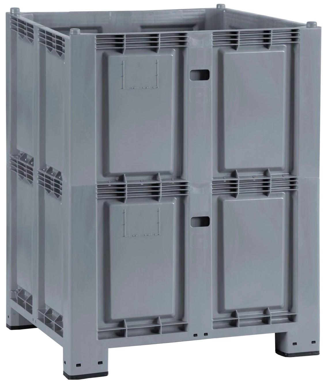 Contenitori plastica con piedi grandi dimensioni 1100 litri - Contenitori di plastica ikea ...