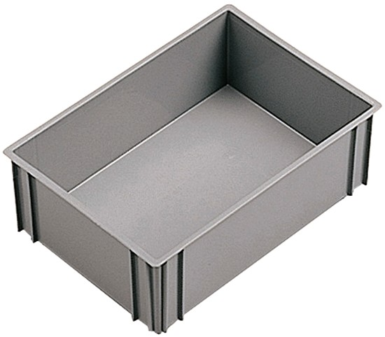 Vaschette cassette rettangolari plastica divisori officina for Vasche per tartarughe in plastica