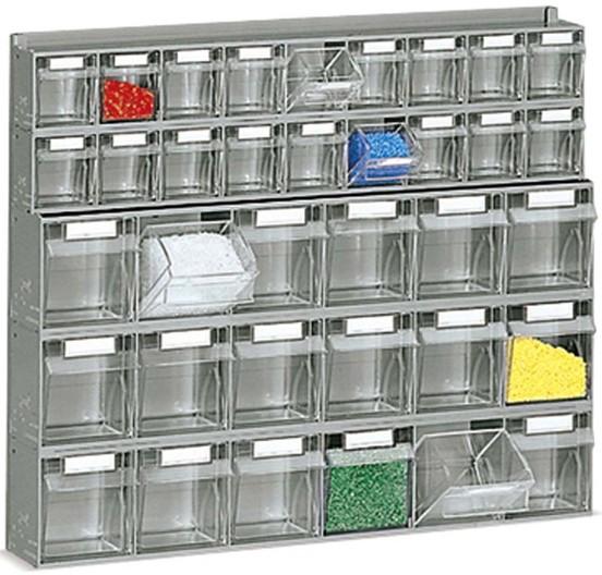 Cassettiere In Plastica Per Minuterie.Scaffali Cassetti Plastica Trasparenti Furgoni O Carrello