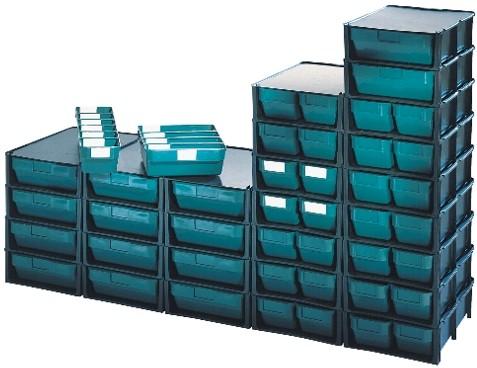 Cassetti In Plastica Componibili.Cassetti Plastica Sovrapponibili Porta Minuteria
