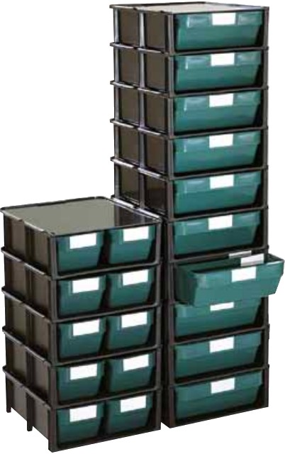 Cassettiere In Plastica Per Minuterie.Cassetti Plastica Sovrapponibili Porta Minuteria