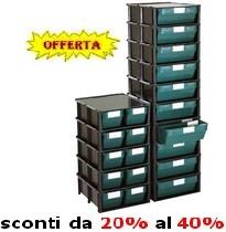 Cassettiere In Plastica Per Magazzino.Arredamenti Magazzino Officina Armadi Scaffali Banchi