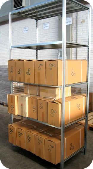 Scaffalature metallo scaffali gancio magazzino archivio for Piani di officina distaccati