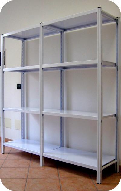 Scaffalature metallo scaffali gancio magazzino archivio for Scaffali da ufficio