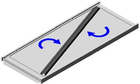 Montaggio ripiani scaffali magazzino in metallo a gancio for Piano del magazzino