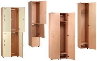 Armadi spogliatoi legno a misura tramezze spogliatoio sporco - Armadietti in legno ikea ...