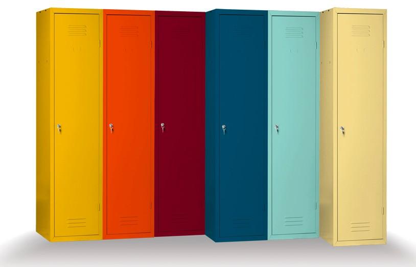 Armadietti metallici colorati u casamia idea di immagine