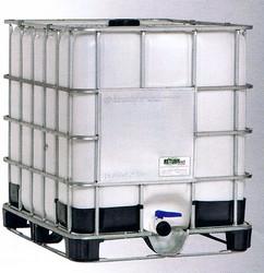 cisternetta in polietilene da 1000 litri su bancale