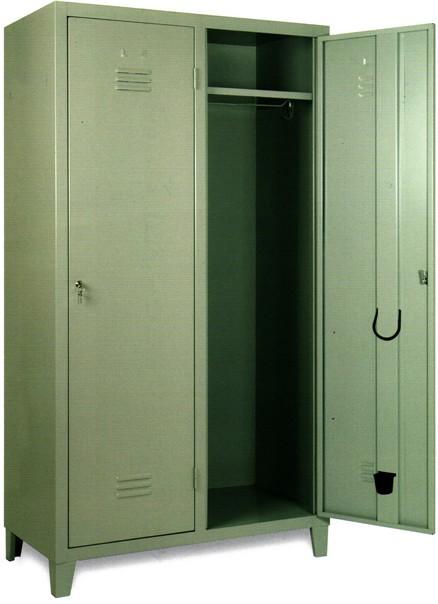 Armadio Spogliatoio In Metallo.Armadietti Spogliatoio Per Impiegati In Metallo 1 2 3 Posti